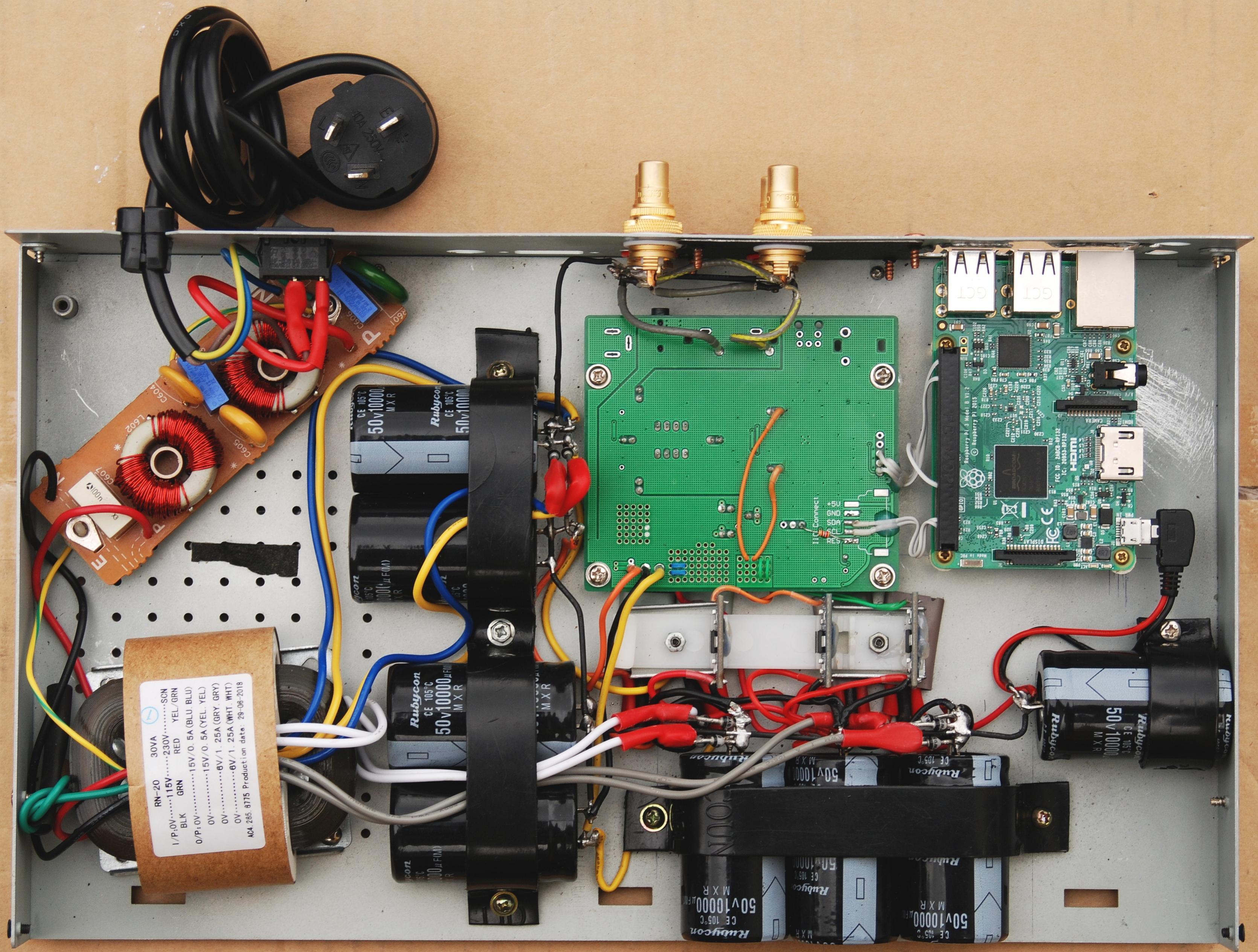 Raspberry Pi – ES Sabre-90xx-Rpi